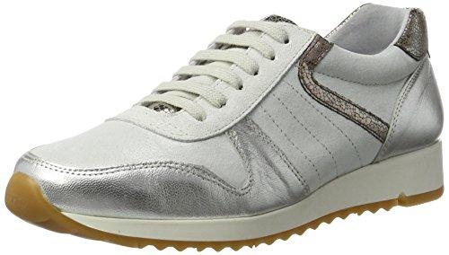 BLACK Damen 236 506 Sneaker, Silber (Silver), 39 EU