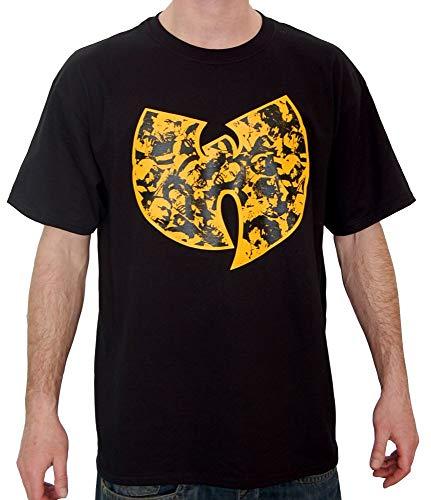 WU Wear - WU Tang Clan - WU Faces T-Shirt - WU-Tang Clan Taille 3XL, Couleur Black