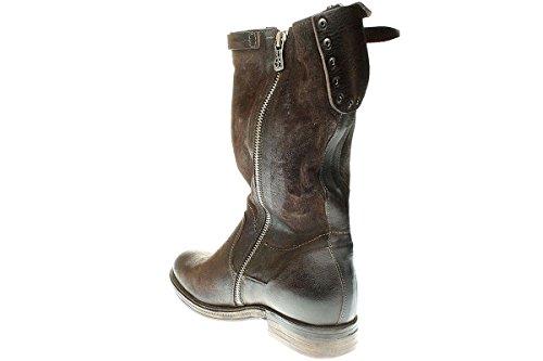 A.S.98 818312-0201 - Damen Stiefe Cowboy-/ Bikerstiefelette Boots Braun