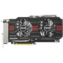 Asus NVIDIA GeForce GTX 660 Direct CU II Grafikkarte (PCIe 3.0, 2GB GDDR5 Speicher, DisplayPort)