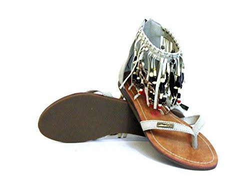 Les Tropeziennes Damen Sandaletten beige GOPAK 07077 ECRU Beige