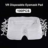 arouser Mascarillas VR ojos desechables 100 Pie mascasillas de Ojos de higiene compatibili per HTC Vive VR PRO Oculus Quest Rift s Go Improved Successful Kindness companionable