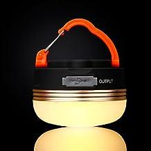 Portátil Recargable Luz de emergencia LED Farol de camping tienda de campaña lámpara de luz resistente