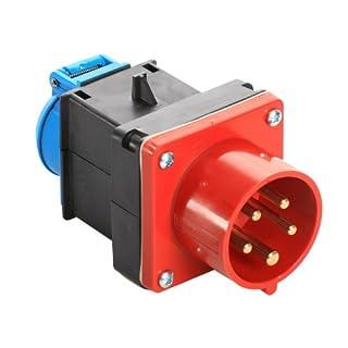 as - Schwabe Mixo Adapter 60495 CEE-Gerätestecker auf Schutzkontaktsteckdose 230 V
