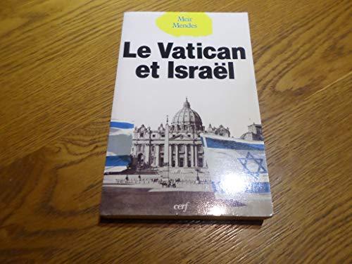 Le vatican et Israël