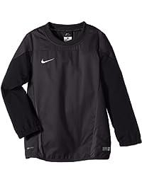 NIKE Sweatshirt Squad 14 Shell - Prenda, color negro (anthracite/black/electric green/white), talla xl