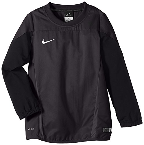 NIKE Herren Sweatshirt Squad 14 Shell Anthracite/Black/Electric Green/White