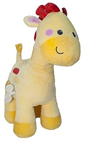 Fisher-Price Musical Waggy Giraffe Plush Baby Toy