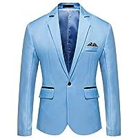 YOUTHUP heren Sakko Fitness Sportief jack Business Vrije tijd Slim Fit Blazer Coat