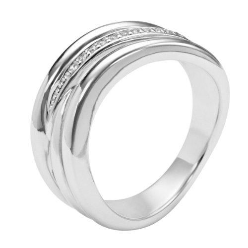 Fossil Herren-Ring Edelstahl Gr. 60 (19.1),JF83528040-10