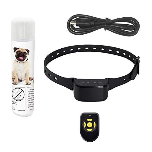 Forart Wiederaufladbare No Bark Spray Halsband Pet Citronella Anti Bark Halsband Trainingsgerät Trainer für Hunde - Hund Sound-trainer