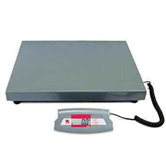 Ohaus Steel SD Economical Shipping Bench Scale, 200kg x 0.1kg, 316mm Length x 280mm Width Platform