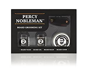 Kit per Barba - Presenta il Set Completo Per La Cura Della Barba di Percy Nobleman