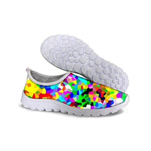 Mens Rainbow Resistant Zapatillas Deportivas Hombre Running Shoes C0635AA