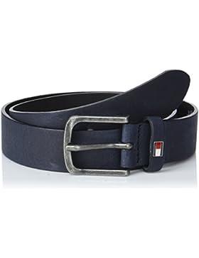 Tommy Hilfiger Classic 3.0, Cinturón para Niños, Azul (Tommy Navy 413), Small