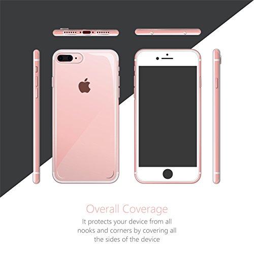 Cujas® | Transparent Premium Silikon TPU Schutzhülle Motiv Case Schutz Weich (iPhone SE / 5S / 5 Bunter Regen) Schaf