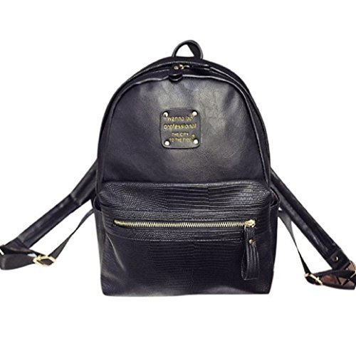 fami-new-mode-feminine-casual-sport-shopping-voyage-sac-a-dos-noir