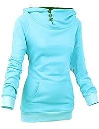 Suchergebnis auf für: kapuzenshirt damen Blau