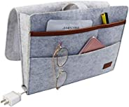 DAYONG Felt Bedside Caddy Hanging Storage Organizer Anti-Slip Sofa Book Organizer Remote Home Holder