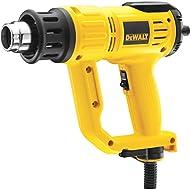 Precise Engineered DeWalt D26414 Premium Hot Air Gun / Heat Gun with LCD Display 50-600° 2000w 240v [Pack of 1] - w/3yr Rescu3® Warranty