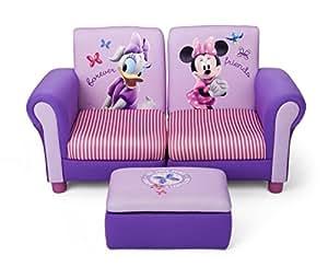 minnie mouse 3 teiliges kindersofa lila k che haushalt. Black Bedroom Furniture Sets. Home Design Ideas
