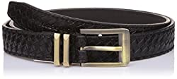 Lino Perros Womens Belt (LWBE00451BLACK_95)