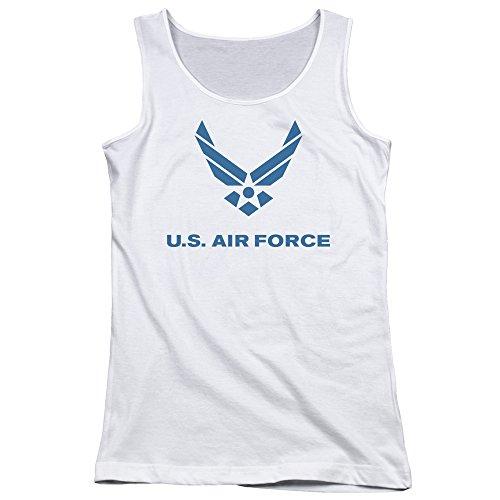 Air Force - - Logo affligé des jeunes femmes Débardeur white