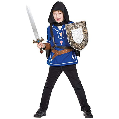 Idealtrend Kostüm Kinder Gr 104-164 Mädchen Jungen Fantasy Fasching Karneval Cosplay Unisex: Farbe: Kleiner Held | Größe: 140