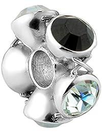 Nena Lina crystal bead con cristales de Swarovski elementos en plata de ley 925, también compatible con Pandora pulseras, 718045-001