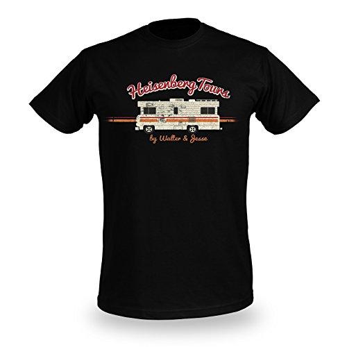 Breaking Bad Heisenberg Tours T-Shirt schwarz L