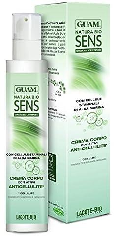 Guam Natura Bio Sens anticell Anti Cellulite raffermissant Crème à l'aloe vera 200ml