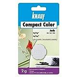 Knauf Compact Colors Farb-Pigmente – Pigment-Pulver zum Einfärben von Putz, nicht staubend, hoch konzentriert und wischfest, Jade, 2-g