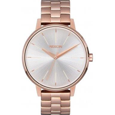 Nixon Damen-Armbanduhr Kensington Analog Quarz Edelstahl A0991045-00