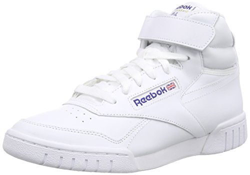 Reebok Ex-O-Fit Hi, Baskets Adulte Mixte Blanc (Int/White)