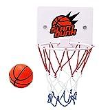 Carremark Kinder Kinder Mini Basketballkorb Spielzeug saugen Wandhalterung mit Pumpe Sport Spielzeug Set