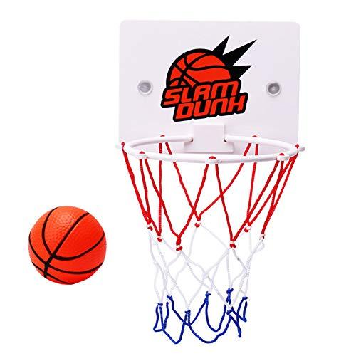 Delidraw Kinder Kinder Mini Basketballkorb Spielzeug saugen Wandhalterung mit Pumpe Sport Spielzeug Set