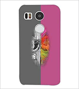 PrintDhaba Funny image D-4194 Back Case Cover for LG NEXUS 5X (Multi-Coloured)