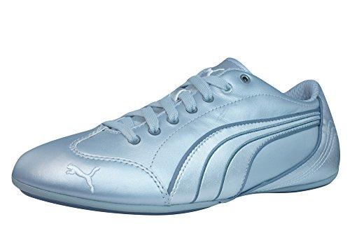 Puma Yalu Metallic Chaussures en cuir pour femme silver