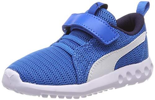 Puma Unisex-Kinder Carson 2 V Inf Sneaker, Blau (Indigo Bunting White), 26 EU