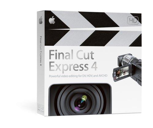 Final Cut Express 4.0 Upgrade from FCE 1,2,3,3.5 (Final Cut Express 4)