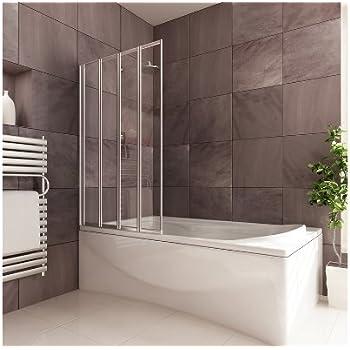 4 Panel Folding Shower Screen