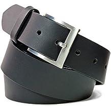 Safekeepers Ceinture Cuir - Nickelfree Boucle – Unisex Homme et Femme 5a11aa112ca