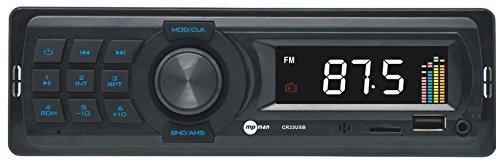 MP Man CR 33 Autoradio (MP3 Player, Bluetooth) schwarz