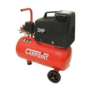 Carpoint 0655001 Compresseur d'Air Sans Huile. 24 Litres. 2 Cv.