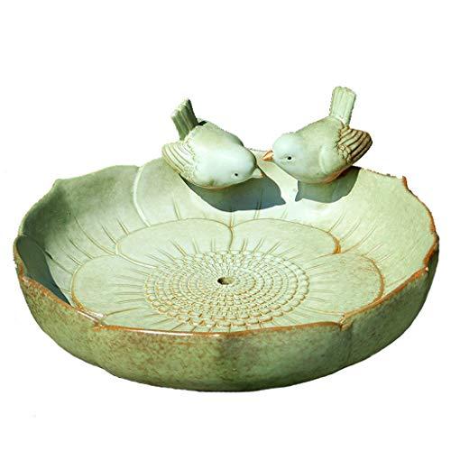 JXXDDQ Mangeoire À Oiseaux - Pot De Fleurs en Céramique Européen Créatif, Grand Oiseau