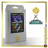LATIOS 108/168 Wendbare Holo - #myboost X Sonne & Mond 7 Sturm am Firmament - Box mit 10 Deutschen Pokémon-Karten