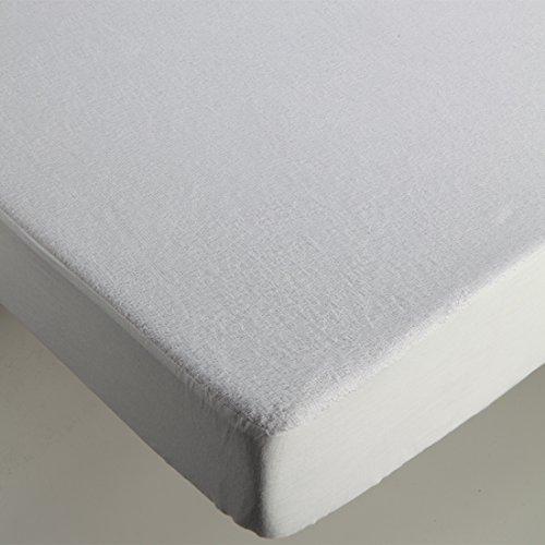 burrito-blanco-protector-de-colchon-impermeable-rizo-para-cama-135x190-200-cm-color-blanco