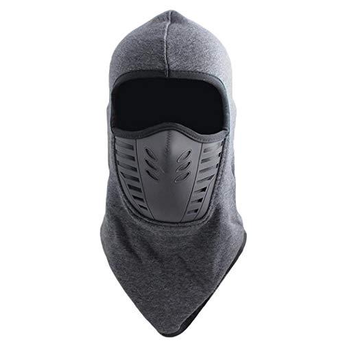 merrt Maschera da Sci Unisex Maschera per Il Viso Calda Antivento Patchwork per Sport Invernali all'aperto Protezioni
