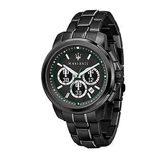 Reloj para Hombre, Colección Royale, Movimiento de Cuarzo, con cronógrafo, en Acero y PVD Negro – R8873637004