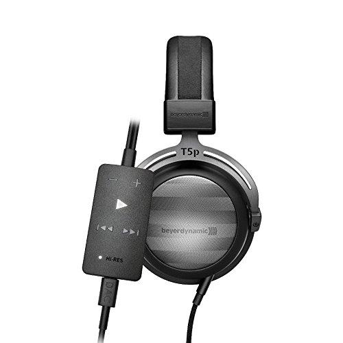 beyerdynamic T 5 p (2. Generation) High-End Stereo Kopfhörer und beyerdynamic Impacto essential High-End Kabel-DAC/Kopfhörerverstärker für Android